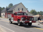 The most awesome truck. The Goshen Fire dept keeps this beaurty well preserved