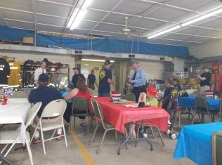 Goshen Fire department awards