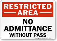 restricted-area-sign-s-0057